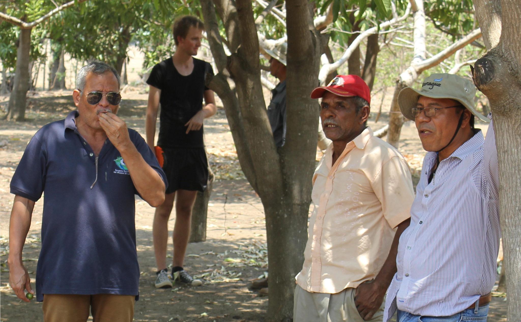 Besuch der Finca der Familie von Damaso Dugley Silva