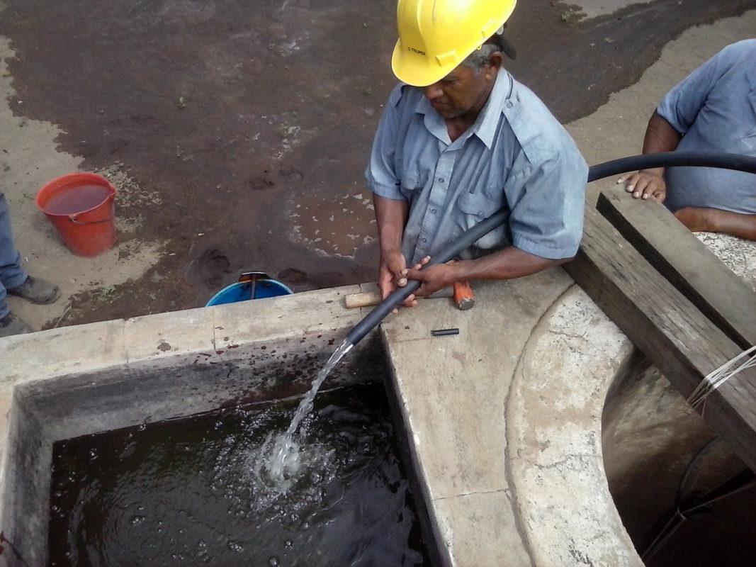 Ein Pumpsystem - unabhängig vom Regen!