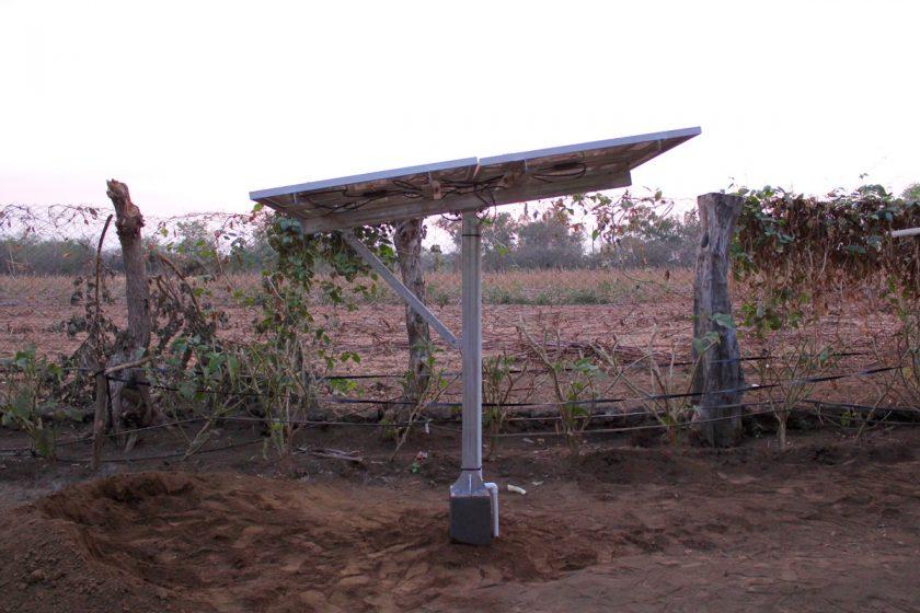 Der neue Solargenerator von Juan de Dios